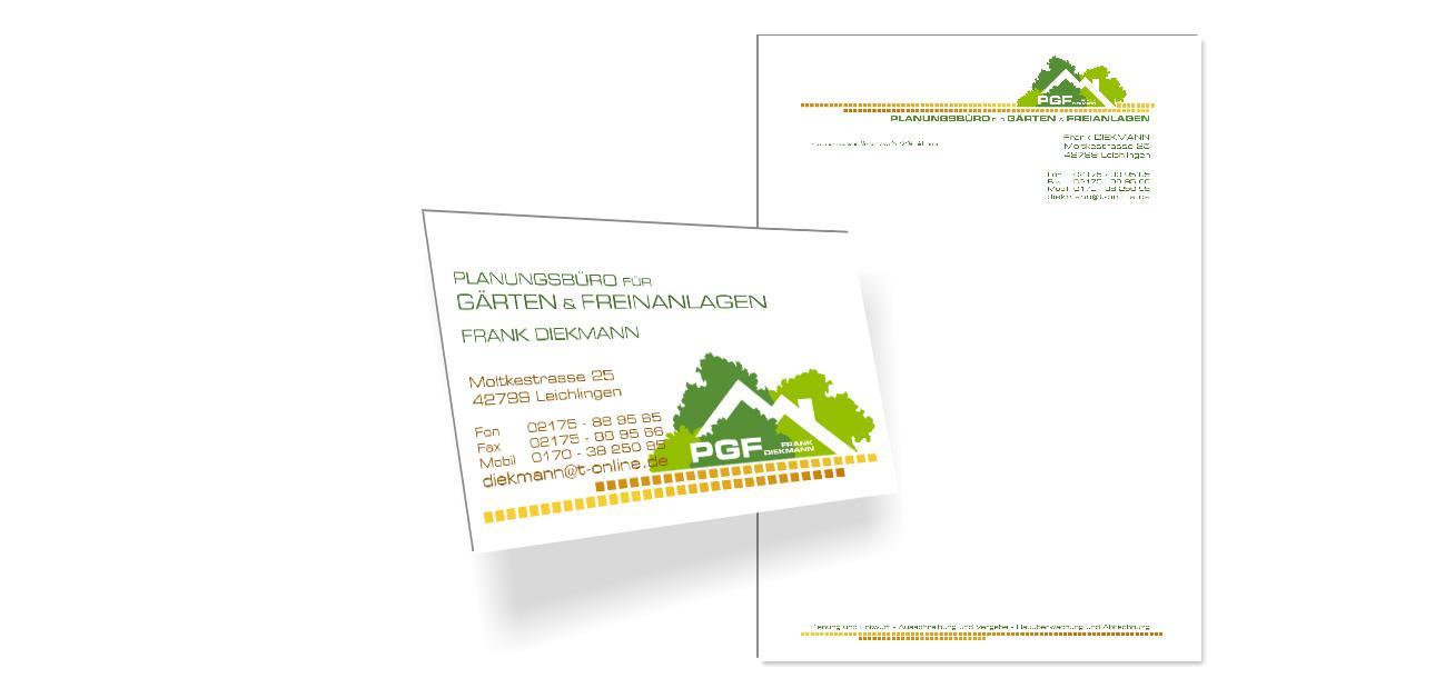 Logo Visitenkarte Briefpapier